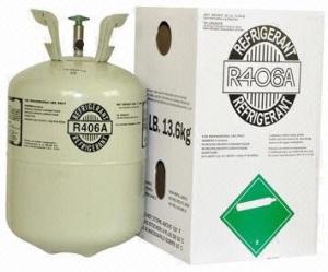 Refrigerant gas R406a